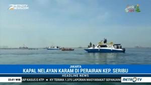 Dua Kapal Nelayan Karam di Perairan Kepulauan Seribu