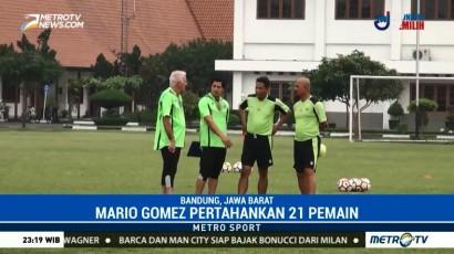 Mario Gomez Pertahankan 21 Pemain
