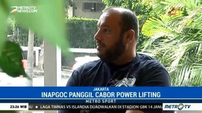 INAPGOC Panggil Cabor Powerlifting