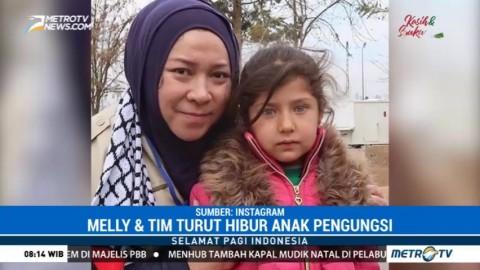Melly Goeslaw Kirimkan Bantuan untuk Palestina