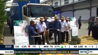 Indonesia Ekspor 710 Ton Benih Kangkung ke Pasar Asia