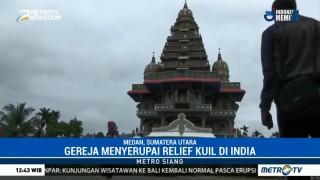 Wisata Rohani ke Gereja Berbentuk Kuil di Medan