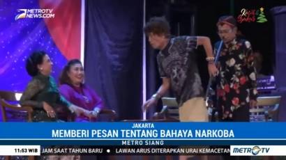 The Return of Srimulat Hibur Pengunjung Pasar Seni Ancol