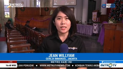 Misa Natal di Gereja Immanuel Jakarta akan Digelar 3 Sesi