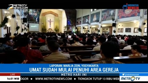 7 Ribu Orang Diprediksi Ikuti Misa Natal Sesi I di Gereja Katolik Santo Antonius