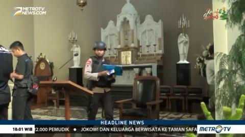 Pengamanan Malam Natal Dilakukan Serentak di Indonesia