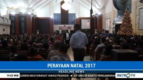 Ribuan Umat Ikuti Misa Natal di Gereja Maranatha Ambon