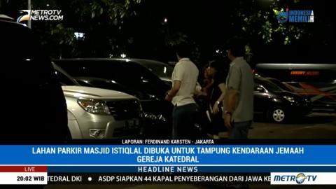 Masjid Istiqlal Dibuka untuk Parkir Kendaraan Jemaat Gereja Katedral