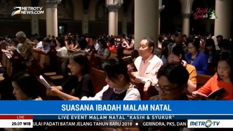 Misa Natal di Gereja Katedral Angkat Tema Damai Sejahtera