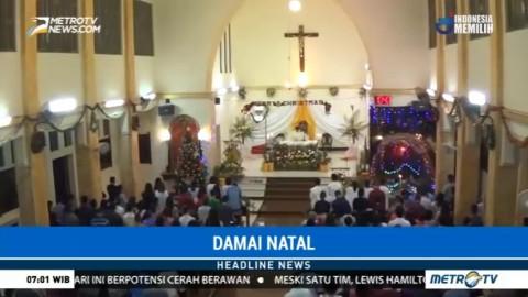 Misa Natal Gereja Katolik Hati Kudus Aceh Berlangsung Khidmat