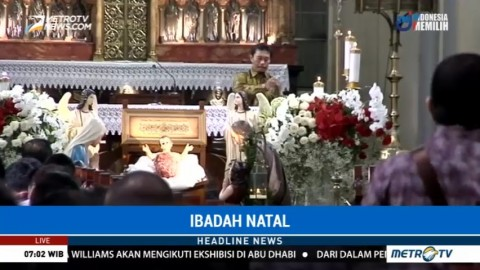 Persiapan Misa Natal di Jakarta dan Aceh