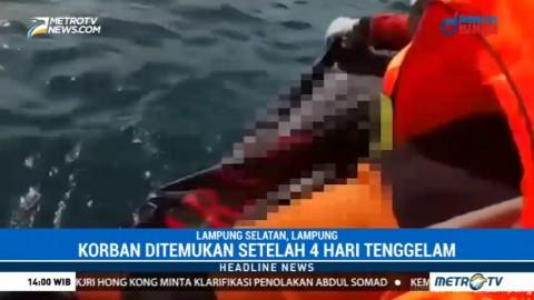 Penumpang KMP Rajarakata yang Terjatuh di Selat Sunda Ditemukan