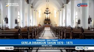Gereja Tua Gedangan, Saksi Sejarah Berbagai Peristiwa di Semarang