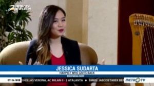 A Talk With Indonesian Harpist Jessica Sudarta