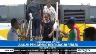 Penumpang Kapal Tujuan Singapura di Pelabuhan SBP Melonjak 30%