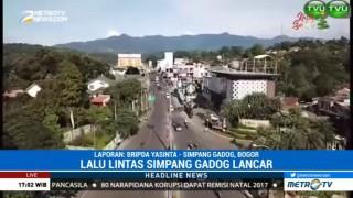 Lalu Lintas di Simpang Gadog Lancar