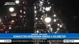 Kemacetan Panjang Terjadi di Pusat Kota Bandung