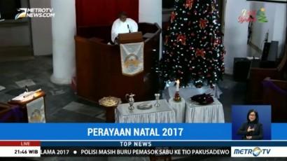 Perayaan Natal di GPIB Immanuel Berlangsung Khidmat