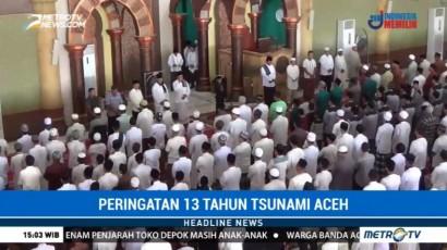Warga Aceh Barat Gelar Doa Bersama di Peringatan 13 Tahun Tsunami