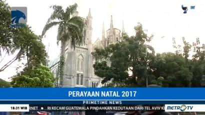 Perayaan Natal 2017 di Seluruh Indonesia Berlangsung Aman