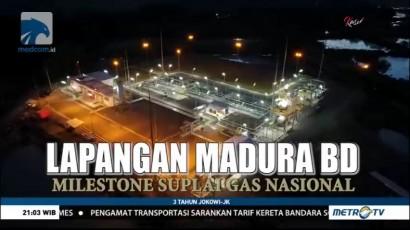 Lapangan Madura BD, Milestone Suplai Gas Nasional (1)