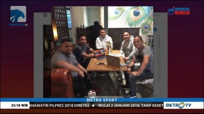 Ponaryo Astaman Latih Borneo FC di Piala Presiden