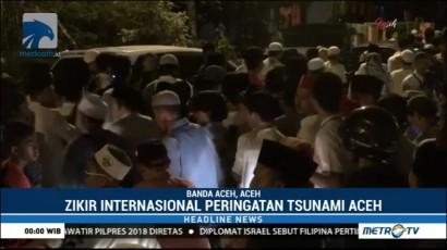 Ribuan Warga Antusias Ikuti Zikir Internasional Peringatan 13 Tahun Tsunami Aceh