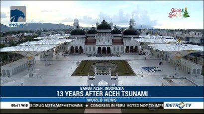 13 Years After Aceh Tsunami