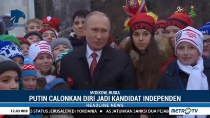 Putin Maju di Pilpres Lewat Jalur Independen
