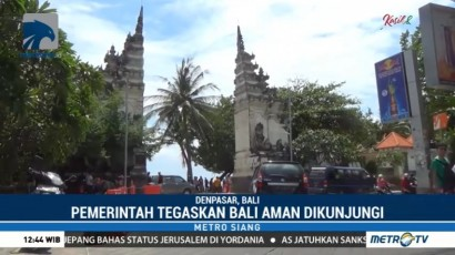 Bali Dipastikan Aman Meski Gunung Agung Berstatus Awas