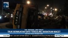 Ada Truk Terguling, Semarang-Solo Sempat Macet 6 Km