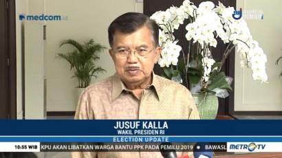 JK Minta Peserta Pilkada Serentak 2018 Taati Aturan