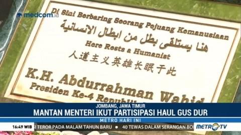 Mantan Menteri Kabinet Persatuan Nasional akan Hadiri Haul Gus Dur