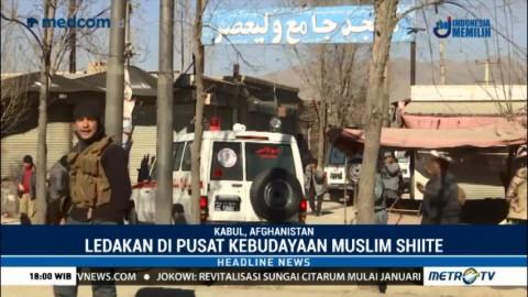 Ledakan di Pusat Kebudayaan Muslim Shiite Tewaskan 35 Orang