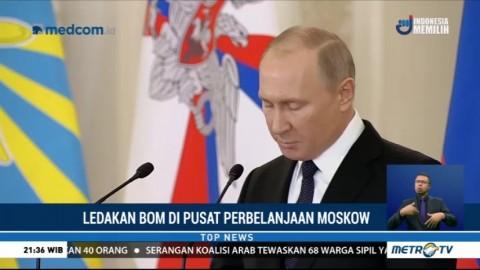 Putin: Ledakan di St Petersburg Adalah Serangan Teroris