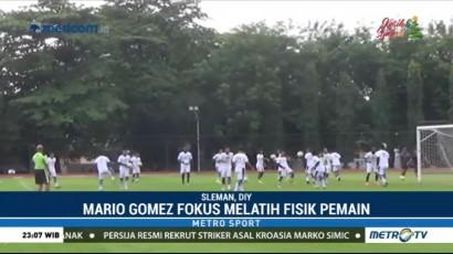 Persib Bandung Fokus Melatih Fisik Pemain