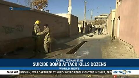 Suicide Bomb Attack Kills 35 in Kabul