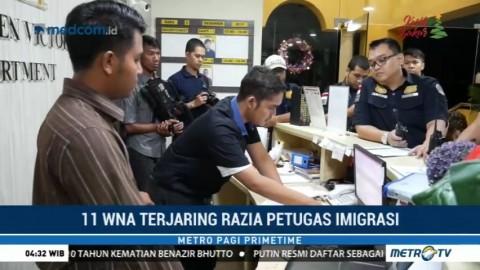 11 WNA Terjaring Razia Imigrasi Batam