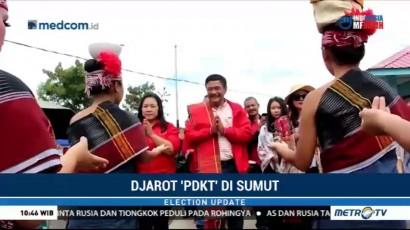 Djarot 'PDKT' di Sumut