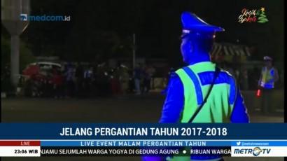 4.142 Personel Gabungan Amankan Malam Pergantian Tahun di Jakarta Pusat