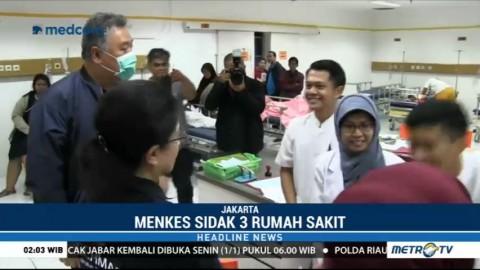 Malam Tahun Baru, Menkes Sidak Sejumlah RS di Jakarta