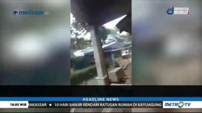 Belasan Rumah di Semarang Rusak Diterjang Angin Puting Beliung