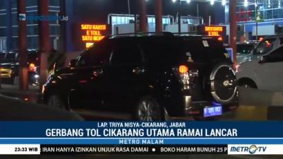 Jasa Marga Prediksi 107 Ribu Kendaraan Kembali ke Jakarta Melalui Tol Cikarut