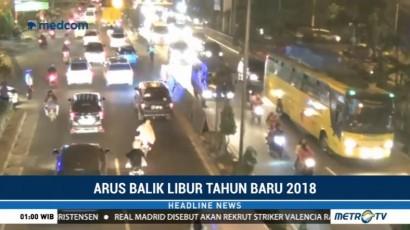 Arus Lalin di Jalinsum Medan-Lubuk Pakam Padat