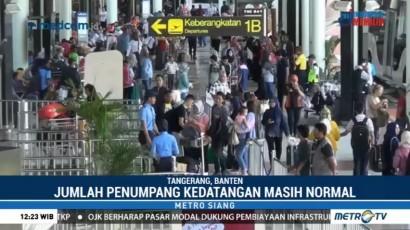 Jumlah Penumpang di Terminal Kedatangan Bandara Soetta Masih Normal