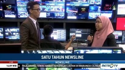 Di Balik Layar Newsline