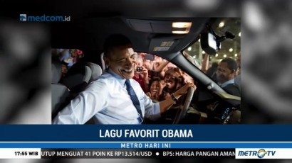 Ini Daftar Lagu Favorit Obama