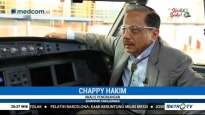 Chappy Hakim: 80% Uang Industri Penerbangan Lari ke Luar Negeri