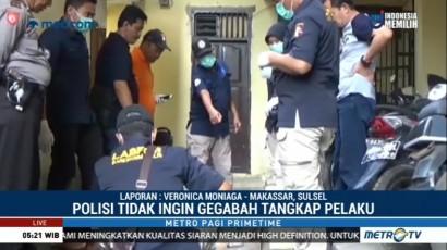 Pelaku Peledakan di Polsek Bontoala Masih dalam Pencarian