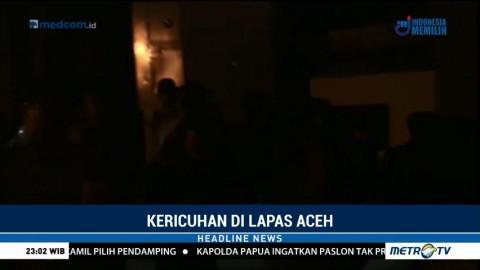 Tolak Dipindahkan, Tiga Napi Picu Kerusuhan di Lapas Banda Aceh
